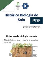 Histórico da Biologia do Solo