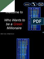 CH 4 Millionaire