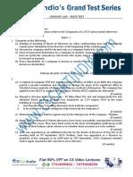 COMPANY LAW LIVE MOCK TEST.pdf