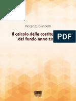 E-book - Il calcolo della costituzione del fondo anno 2019