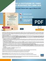 Presentazione Pacchetto Costituzione Fondo risorse decentrate 2019