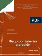 Riego Por Tuberia a Presion