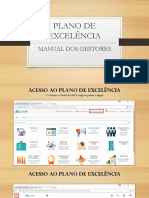 Manual do Gestor - Plano de Excelência