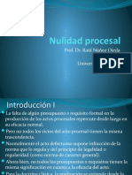 Nulidad procesal