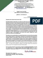 Carta Abierta Alcalde Daniel Quintero Calle