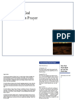An Encounter with God in Prayer