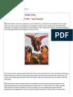 Catholic Prayers_ PRAYER AGAINST EVERY EVIL