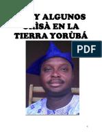 IFA Y ALGUNOS ORISA EN TIERRAS YORUBAS