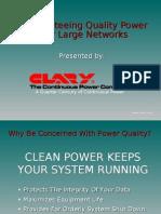 POWER QUALITY=Clary-PowerQualityBasics2 MOD 033010
