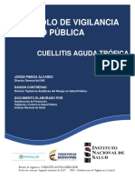 PROTOCOLO CUELLITIS AGUDA TRÓFICA