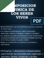2.COMPOSICION QUIMICA DE LOS SERES VIVOS