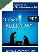 Sunday December 12