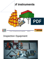 Frosio 17A Inspection Work & Equipment