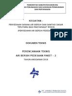 Usulan Teknis Air Bersih Pedesaan