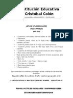 ÚTILES ESCOLARES 2020 PRIMERO A ONCE revisadas 14 enero(1).doc