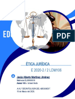 Deontología del abogado