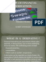 STUDY OF FINANCIAL DERIVATIVES