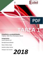 Estadistica y Probabilidades Tarea1 Carlos Sevilla