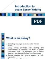 Cum sa scrii un eseu