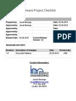 Embedded_Checklist