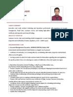 Mohammed Saabir CV