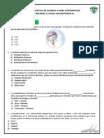 EJERCICIOS BIOLOGÍA 2020-PRIMERA PARTE