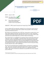 Jenkins 082206 Congress WTC Dust pH Fraud