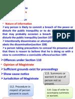 3. Preventive Concept in  Code of Criminal Procedure