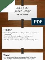 Timber design Lecture 1 - POLINGA, IRISH M.