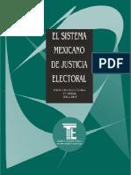 El sistema mexicano de justicia electoral