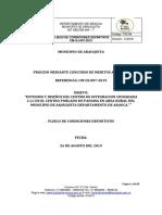 PLIEGOS DEFINITIVOS CIC 2019