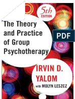 The Theory and Practice of Group Psychotherapy .docx