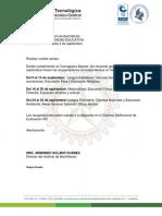 Información recuperaciones 3er Periodo.