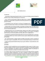 Governo de Goiás determina a paralisação das aulas  nos níveis educacionais , públicos e privados.