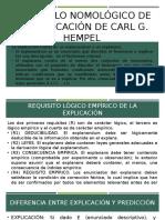 Diapositivas de Carl Hempel