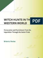 Witch Hunts Western World