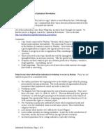 Factors Establishing the Industrial Revolution