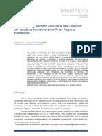 6 Sociedade civil, partidos políticos, inter-relações