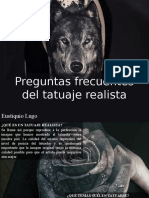 Eustiquio Lugo - Preguntas Frecuentes Del Tatuaje Realista