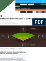 Consejos de apuestas en la MLB _ Ayuda de apuestas en la MLB