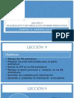 Lección  8 y 9