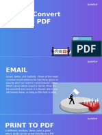 How to Save Gmail in PDF