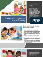 Desarrollo cognitivo ( 2 a 5 años)
