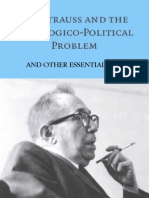 Leo Strauss - Theological-Political Problem