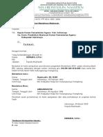 Surat permohonan pergantian Bendahara BOS