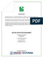 Investment in Guyana