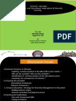 Psychosocial & Pedagogy