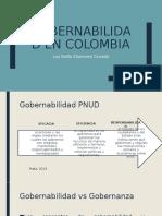 Gobernabilidad en Colombia