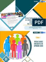 INFORME RESULTADOS DE LA ENCUESTA 2019 RDC
