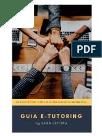 Guia E-tutoring by Sara Letona